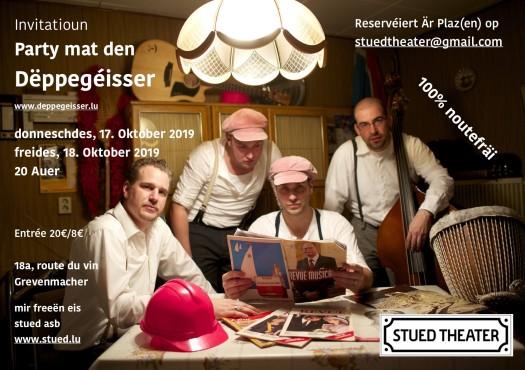 Invitatioun Dëppegéisser 17., 18.10.2019